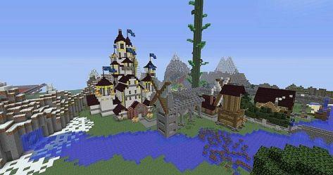 fairytale pvp minecraft saga map maps diamonds