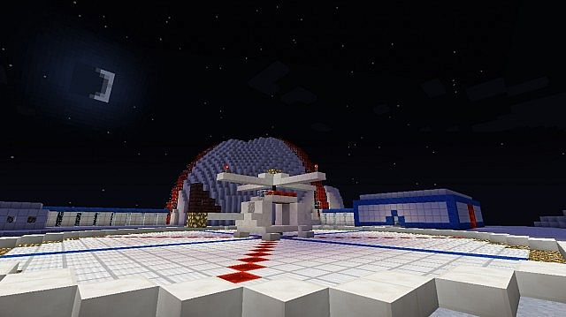 Survival Games Moon Base One Minecraft Project