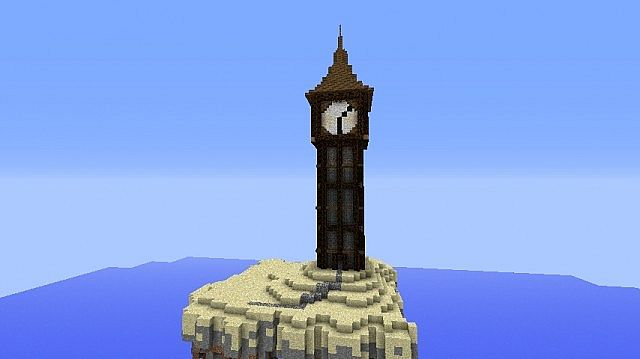 A Medieval Clocktower With Howtomake Video Minecraft