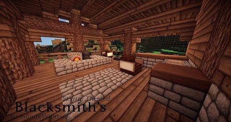 skyrim blacksmith forge themed minecraft exterior map