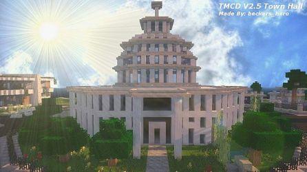modern minecraft hall town townhall beckers bundle building hero
