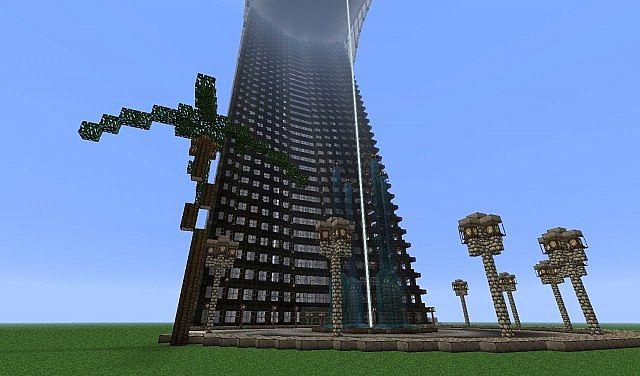 Minecraft Tony Starks Tower Complex