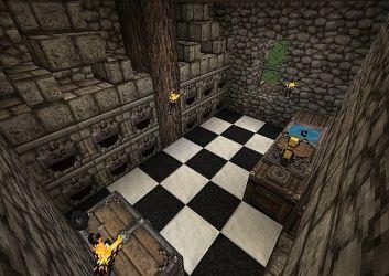 medieval inn kitchen minecraft