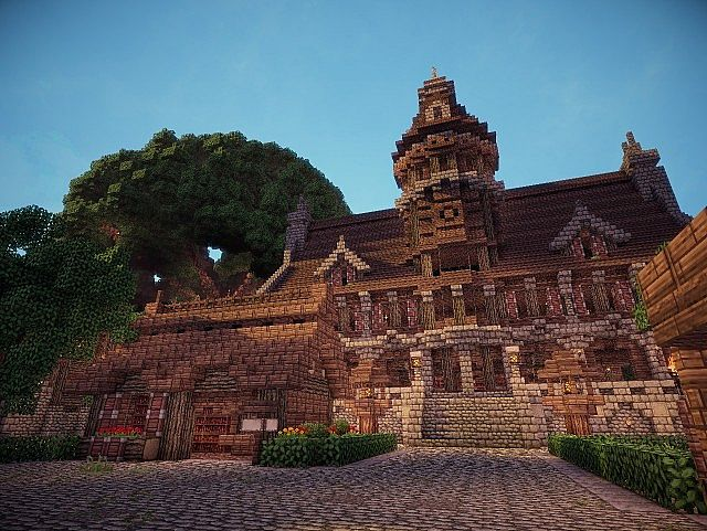Gothic Town Hall Minecraft Project