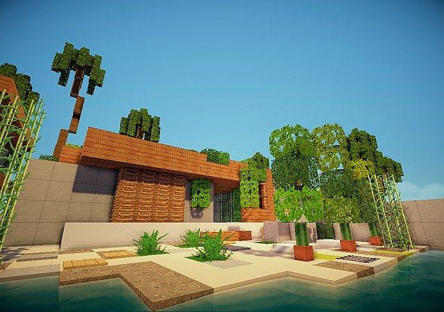 Modern Home Minecraft Project
