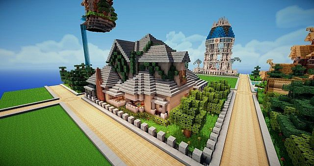 French country house Minecraft Project