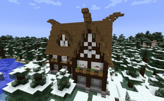 How To Build A Viking House Minecraft Blog