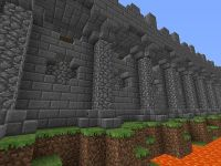 City Wall Design Minecraft Project