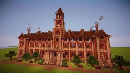 hall town victorian minecraft tutorials schemagic forums