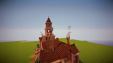 town victorian hall minecraft schemagic