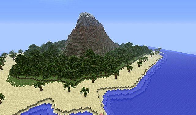 Berg Bol Island Survival Map Minecraft Project