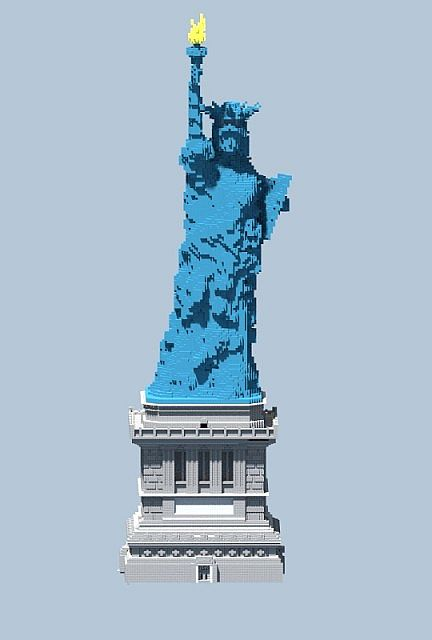 Statue Of Liberty Minecraft Project