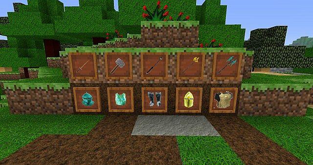 Minecraft 16 Texture Pack Smite Medieval 256x256