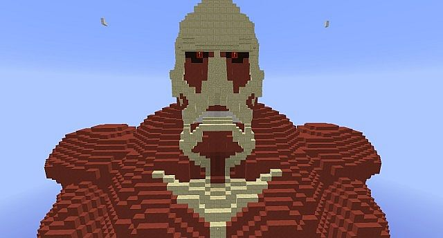Attack On Titan Colossal Titan Minecraft Project