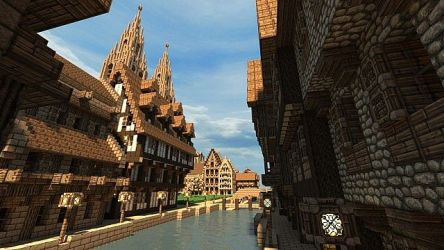 Port Prodigium Large Medieval City Minecraft Map