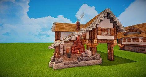 forge blacksmith medieval minecraft project designs village planetminecraft building projects castle plans diamonds blueprints