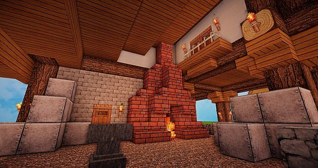 Medieval ForgeBlacksmith Minecraft Project