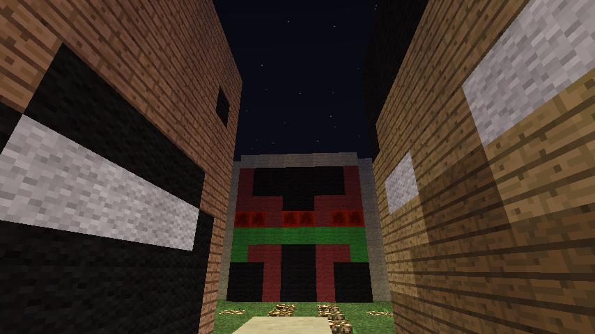 Notch vs. Herobrine PVP Minigame Minecraft Project