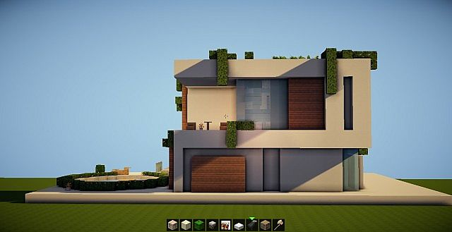 SIMPLE MODERN HOUSE SD 2 Minecraft Project