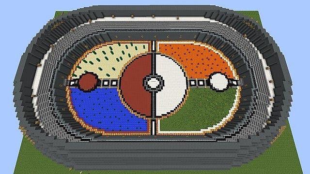 Pokemon Arena Minecraft Project