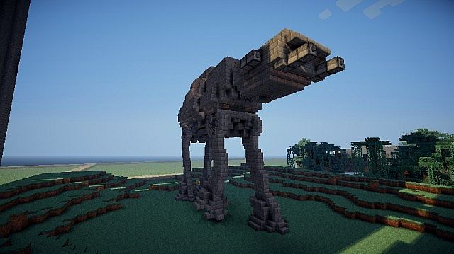 AT AT Imperial Walker Now With Download Minecraft Project