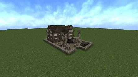 medieval blacksmith minecraft front map