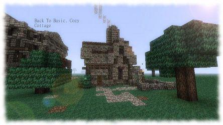 cozy cottage minecraft basic