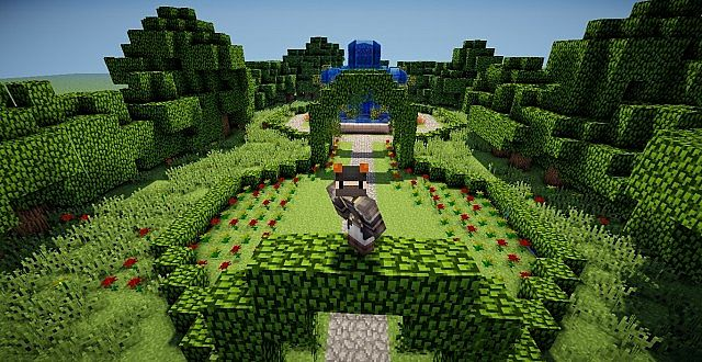 Flower Garden Minecraft Project