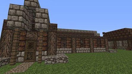 floor medieval plan building open minecraft series front