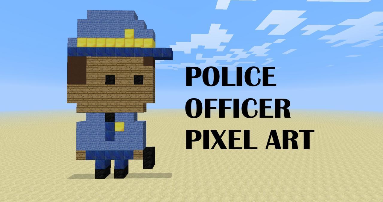 Police Skin Format Officer Minecraft