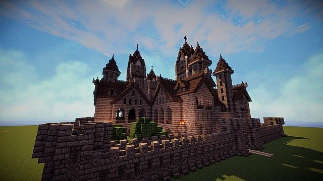 Gothic Castle Spawn Minecraft Project