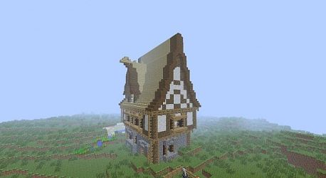 Fantasy house Minecraft Map
