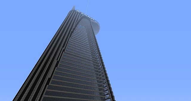 Minecraft Avengers Tower