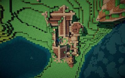 hall town medieval project minecraft