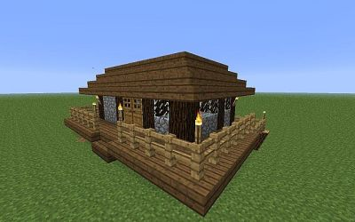 cozy cottage minecraft diamonds