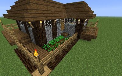 cottage cozy minecraft project
