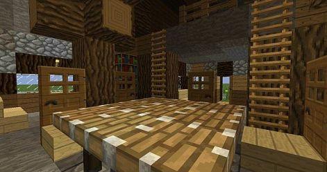 medieval bedroom room dining minecraft