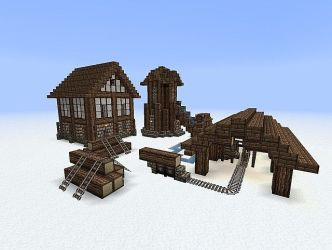 minecraft medieval building pack schematics buildings build projects maison blueprints planetminecraft tips lumbermill structures creations project houses designs smith stable