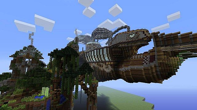 Space Portal And Space Ship Xbox 360 Awesome World With Download Minecraft Project
