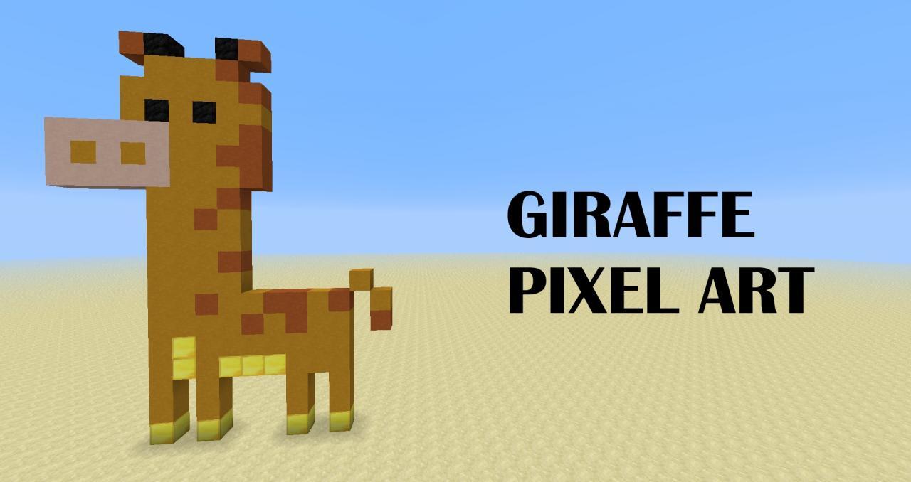 Майнкрафт картинки жираф