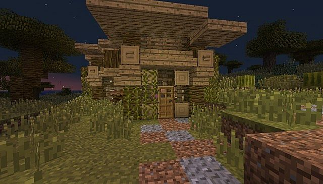 Savanna Village Minecraft Project