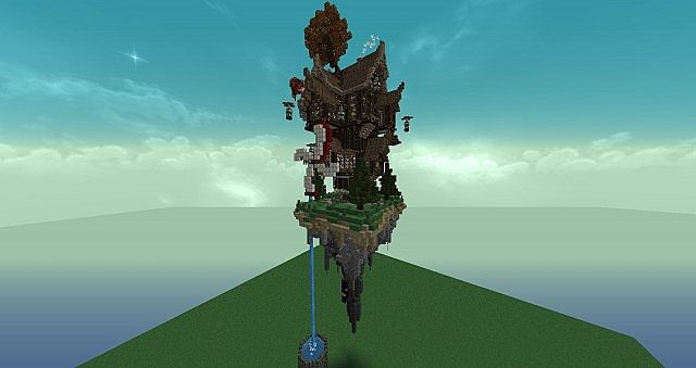 Tarlowk Steampunk Tower House Minecraft Project