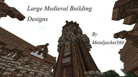 medieval building designs minecraft diamonds