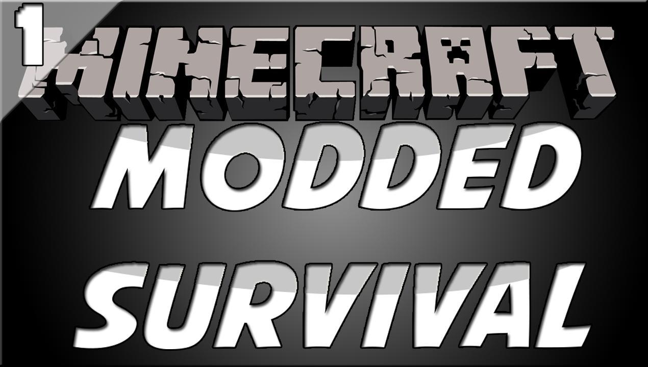 Minecraft Modded Survival S1 Ep 1 New Beginnings