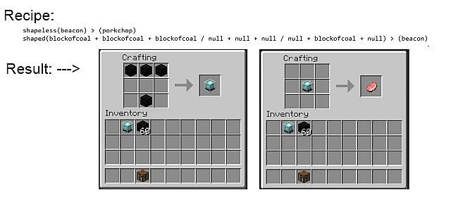recipes make and customize your own crafting recipes minecraft mod