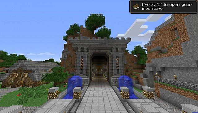 Minecraft Underground Base Map