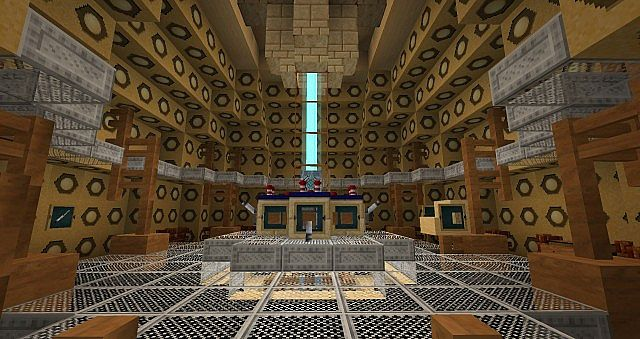 Doctor Who 50th Anniversary Tardis Minecraft Project