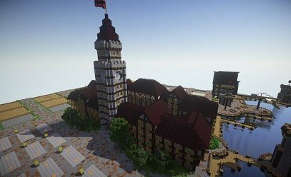 medieval town hall minecraft keyboard arrow right