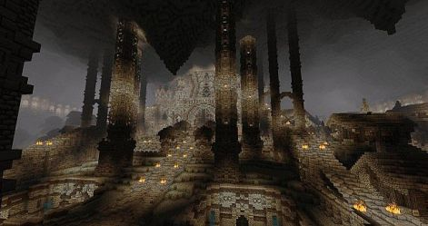minecraft dwarven project 18th oct published zinnias