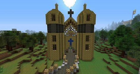 church catholic minecraft map resource